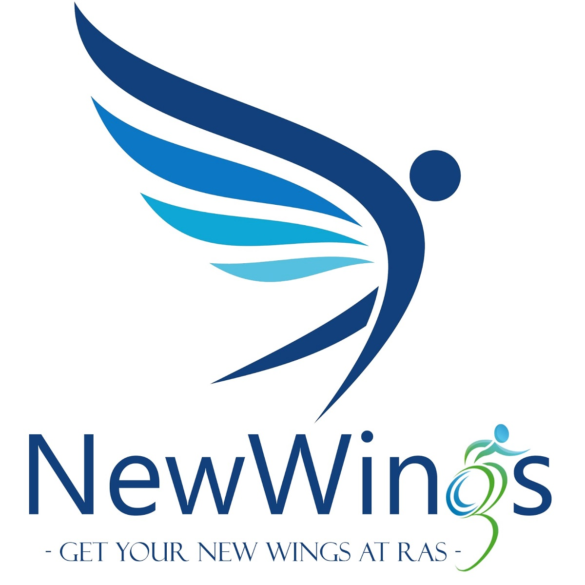 logo NewWings. Get your new wings at ras